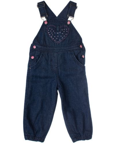 Зимний комбинезон джинсовый с подкладкой Playtoday Baby