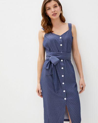 Платье платье-сарафан синее Trendyangel