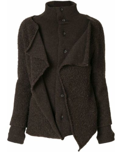 Пальто с капюшоном Yohji Yamamoto Pre-owned