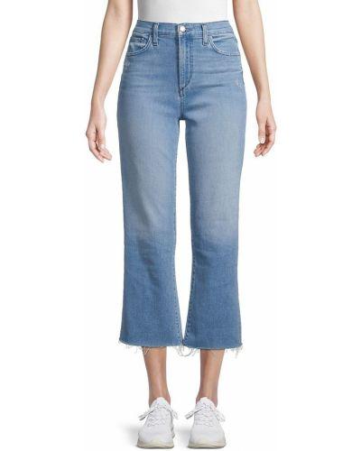 Укороченные джинсы клеш Joe's Jeans