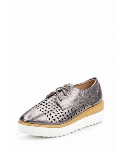 Розовые кожаные ботинки Vivian Royal