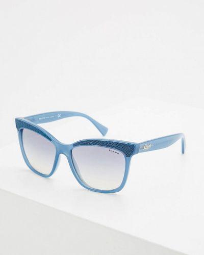 Синие солнцезащитные очки Ralph Ralph Lauren