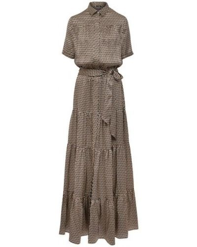 Шелковое платье Kiton