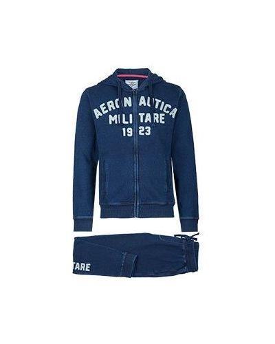 Спортивный костюм синий Aeronautica Militare