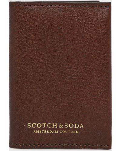 Кошелек кожаный маленький Scotch & Soda