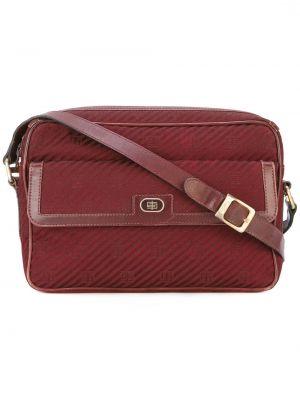 Красная кожаная сумка Emilio Pucci Pre-owned