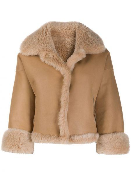 Кожаная куртка с карманами Manzoni 24