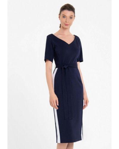 Повседневное синее повседневное платье Lo