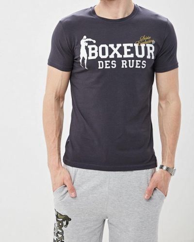 Футболка турецкий серая Boxeur Des Rues