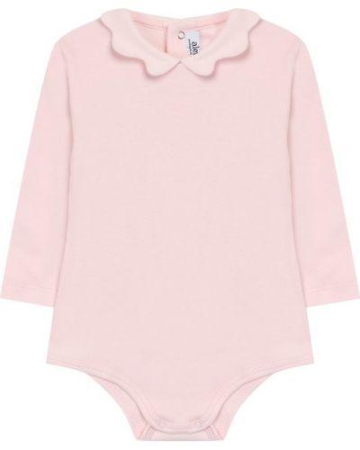 Розовое боди Aletta