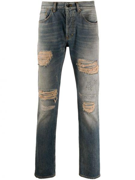 Klasyczne niebieskie jeansy bawełniane Prps