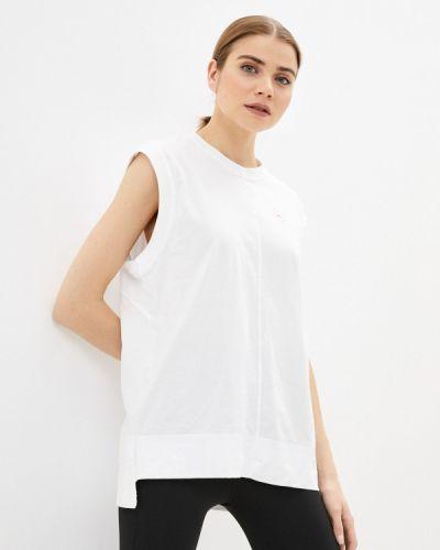 Белый топ Adidas By Stella Mccartney