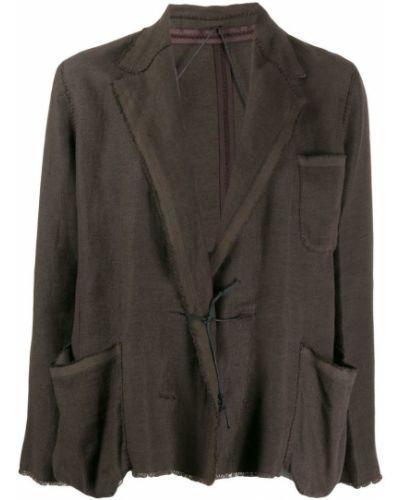Удлиненный пиджак свободного кроя винтажный Lanvin Pre-owned