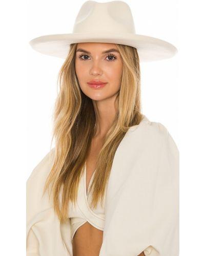 Biały kapelusz wełniany Lack Of Color
