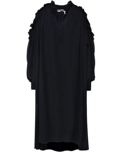 Платье шелковое с вырезом Chloé