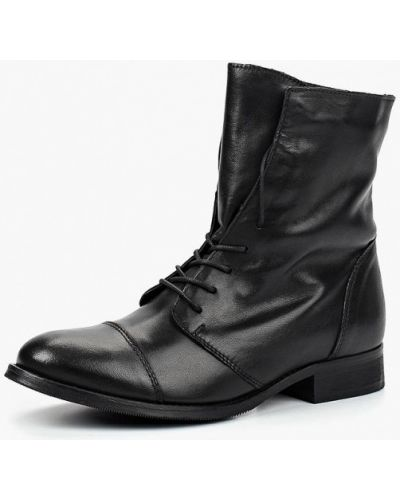 Кожаные ботинки осенние Zign