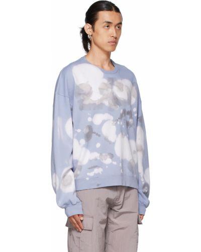 Niebieska bluza z długimi rękawami Ottolinger