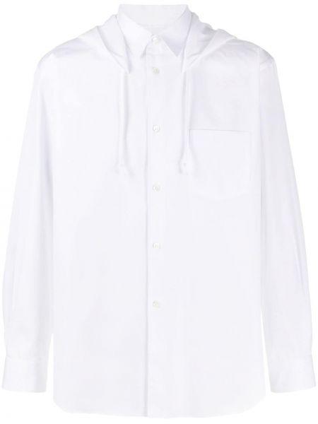 Рубашка с длинным рукавом в полоску с карманами Comme Des Garçons Shirt
