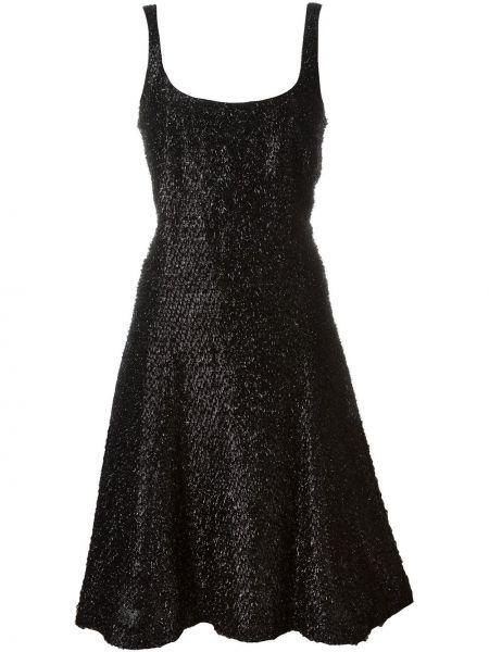 Расклешенное платье винтажное без рукавов с вырезом Stephen Sprouse Pre-owned