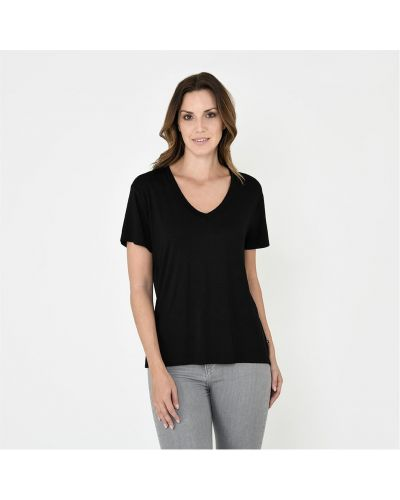 Czarna t-shirt bawełniana Firetrap