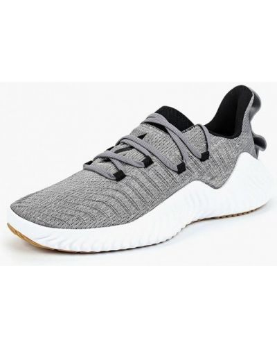 Серые кроссовки низкие Adidas