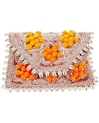 Kopertówka - pomarańczowa Antik Batik