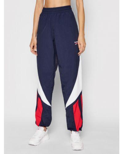 Spodnie dresowe - granatowe Reebok Classic