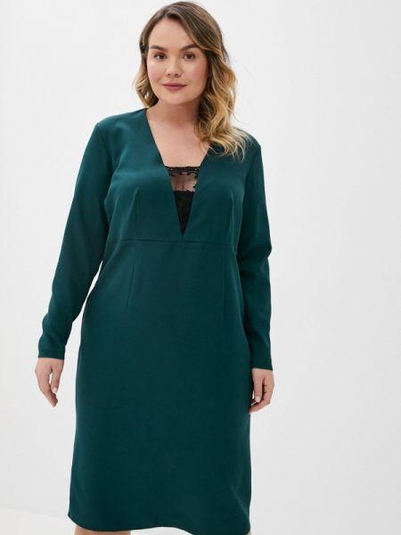 Зеленое повседневное платье Jp