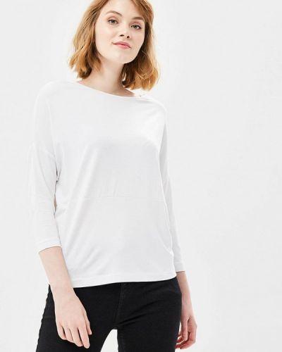 С рукавами белая блузка Ruxara
