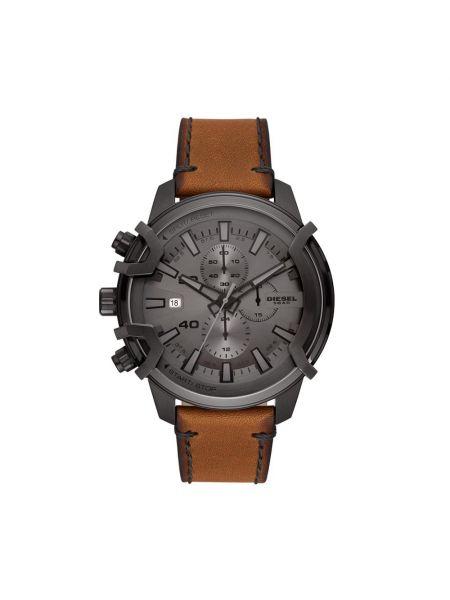 Zegarek - brązowy Diesel