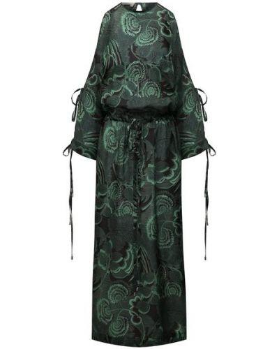Шелковое платье Tak.ori