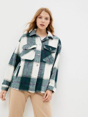 Зеленое демисезонное пальто Fadas