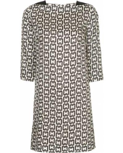 Платье на молнии с вырезом Milly