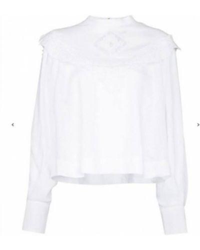 Koszulka - biała Isabel Marant Etoile