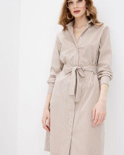 Платье рубашка - бежевое Cappellini