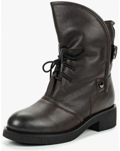 Кожаные ботинки - коричневые Teetspace