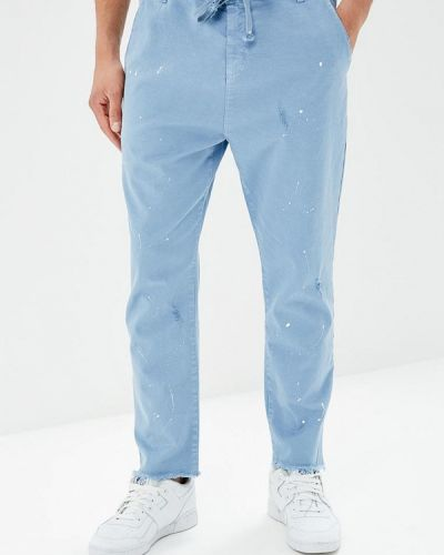 Голубые брюки J.b4