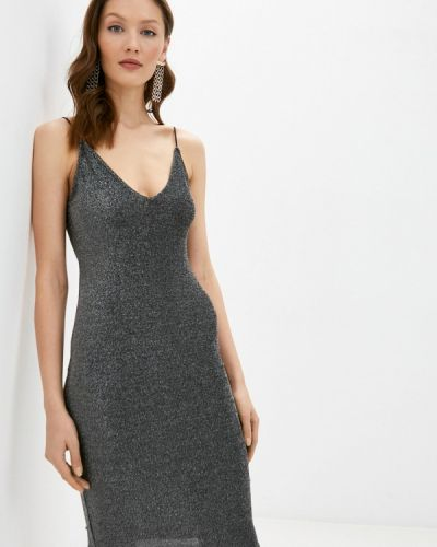 Вечернее платье - серое Valkiria