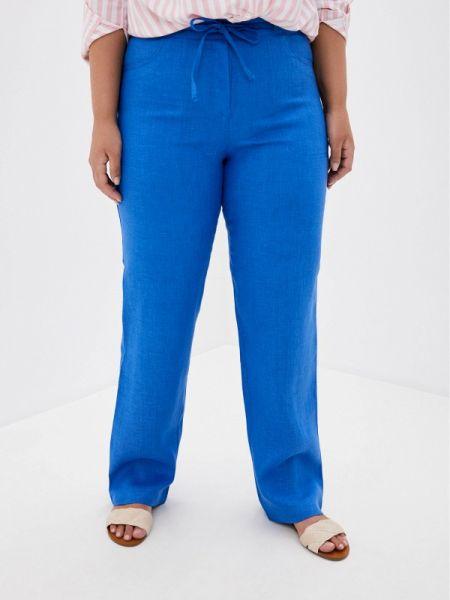 Прямые синие брюки Gabriela