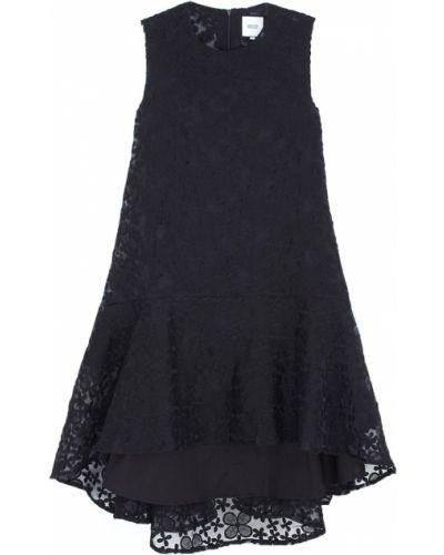 Хлопковое кружевное черное платье Edit