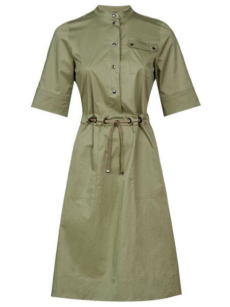 Хлопковое платье - зеленое Bogner