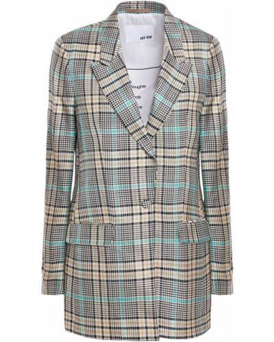 Серый пиджак с подкладкой из вискозы Each X Other