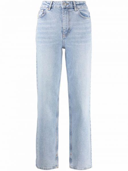 Прямые джинсы классические - синие Ganni