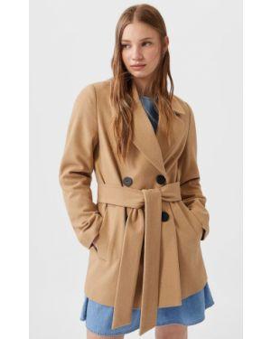 Укороченное пальто пальто Stradivarius