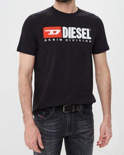 Черная футболка 2019 Diesel