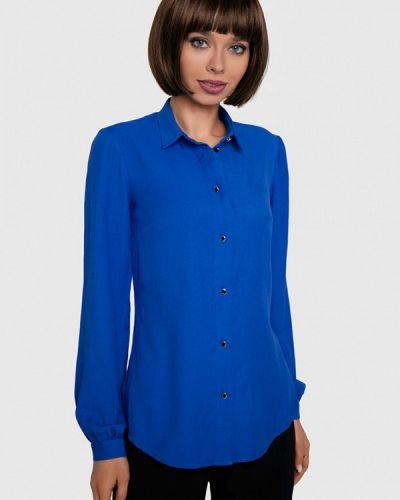 Синяя блузка с длинными рукавами Anushka By Anna Pavlova