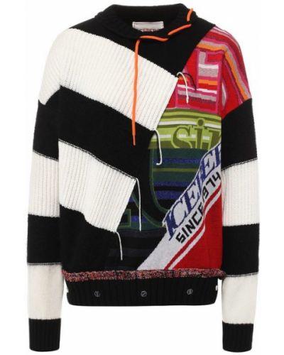 Вязаный свитер с вышивкой из мохера Iceberg