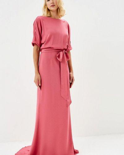 Розовое вечернее платье Pepen