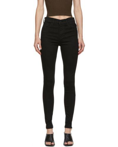 Зауженные черные джинсы-скинни с карманами Levi's®