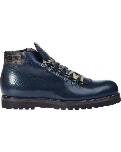 Кожаные ботинки осенние Calpierre